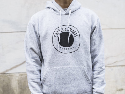 Carpet & Snares Records Hoodie Logo (grey)