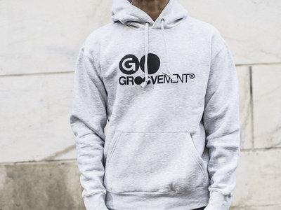 Groovement Hoodie logo (grey)