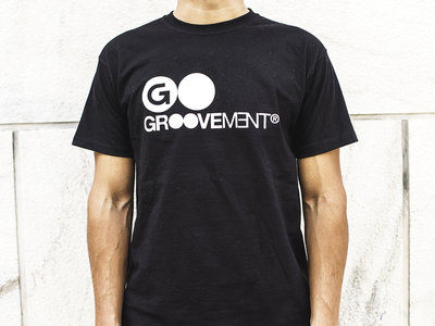 Groovement T-shirt logo (black)  T-Shirt/Apparel