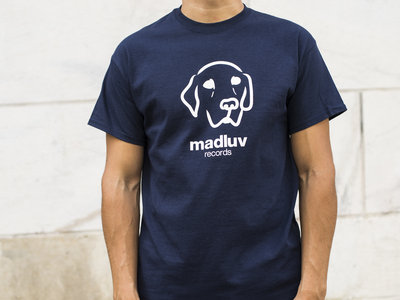 Madluv Records T-shirt logo (navy blue)  T-Shirt/Apparel